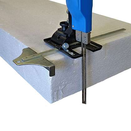 Industrial Hot Knife Straight Blade Cutting Guide